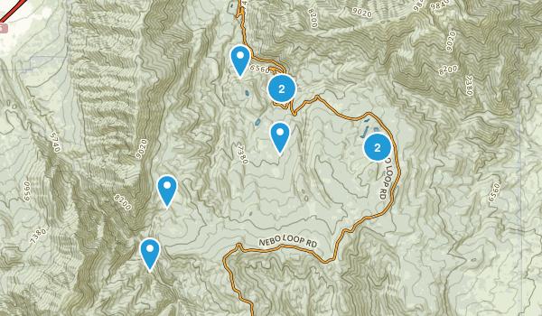 Payson, Utah Nature Trips Map