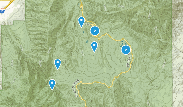Payson, Utah Nature Trips Map