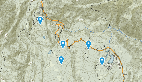 Payson, Utah Trail Running Map
