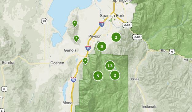 Best Views Trails Near Payson Utah Alltrails