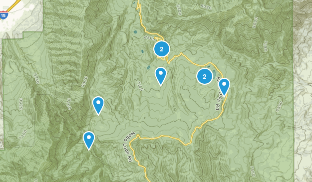 Payson, Utah Walking Map