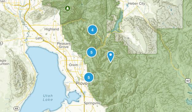 Provo, Utah Dog Friendly Map