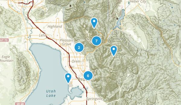 Provo, Utah Walking Map