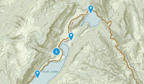 Richfield, Utah Hiking Map