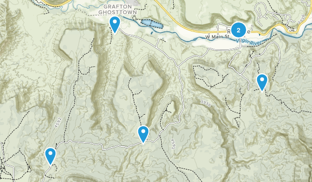 Rockville, Utah Nature Trips Map
