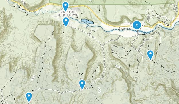 Rockville, Utah Views Map