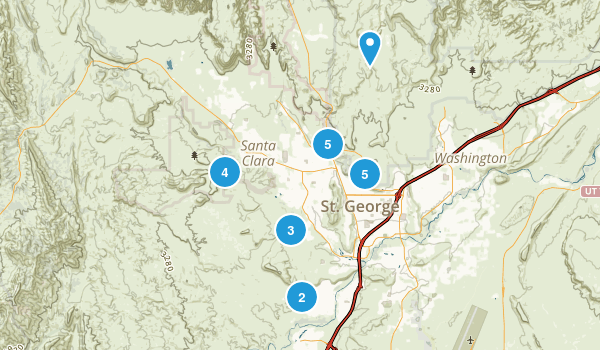 Saint George, Utah Birding Map