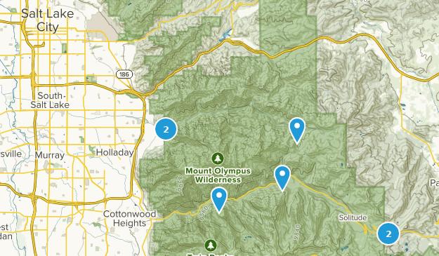 Beste Rucksacktouren in der Nähe von Salt Lake City, Utah ...