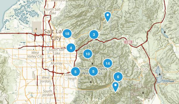Best Birding Trails Near Salt Lake City Utah AllTrailscom - Salt lake city map of us