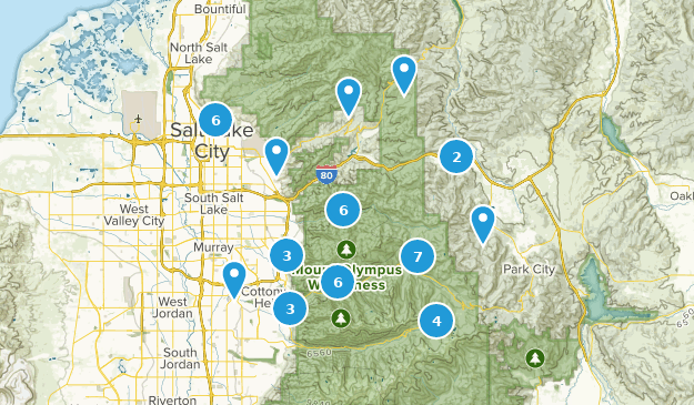 Beste Flusswege in der Nähe von Salt Lake City, Utah   AllTrails