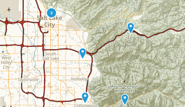 Best Road Biking Trails Near Salt Lake City Utah Photos - Utah road map