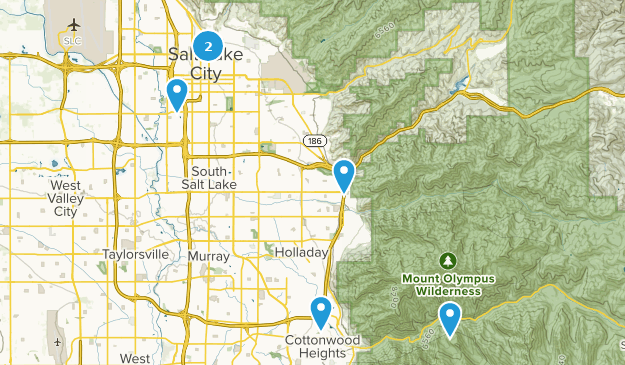 Salt Lake City On Us Map.Best Road Biking Trails Near Salt Lake City Utah Alltrails