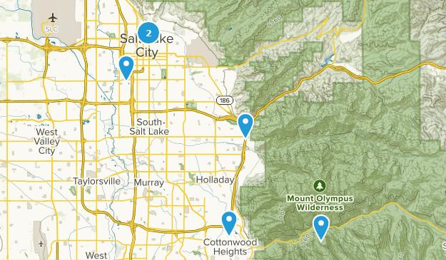 Beste Rennradrouten in der Nähe von Salt Lake City, Utah ...