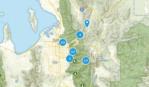Salt Lake City On Us Map.Best Trail Running Trails Near Salt Lake City Utah Alltrails
