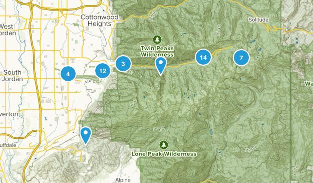 Sandy, Utah Birding Map