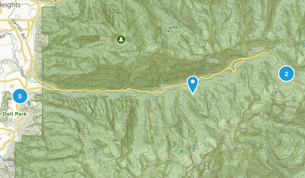 Sandy, Utah Fishing Map