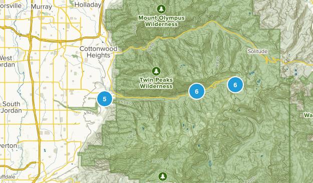 Sandy, Utah Lake Map