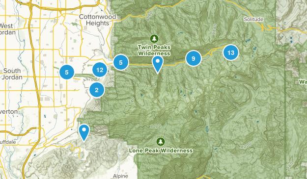 Sandy, Utah Views Map