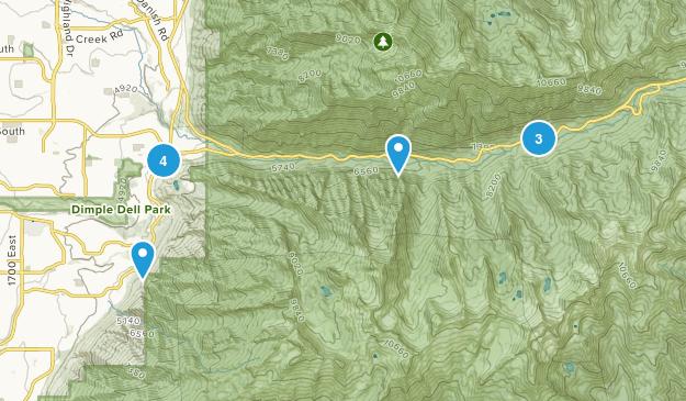 Sandy, Utah Waterfall Map