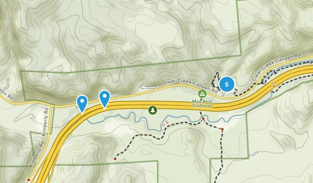 Sevier, Utah Wild Flowers Map