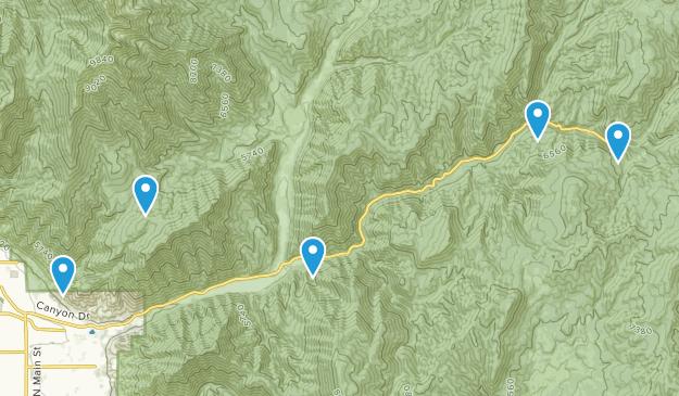 Springville, Utah Views Map