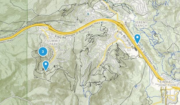 Summit Park, Utah Birding Map