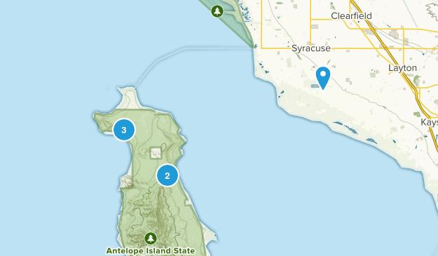 Syracuse, Utah Dogs On Leash Map