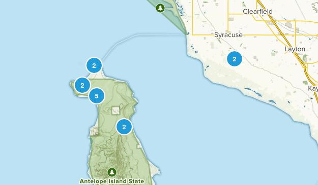 Syracuse, Utah Hiking Map