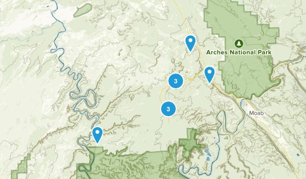 Thompson Springs, Utah Birding Map