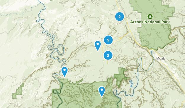 Thompson Springs, Utah Walking Map