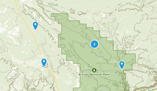 Thompson, Utah Walking Map