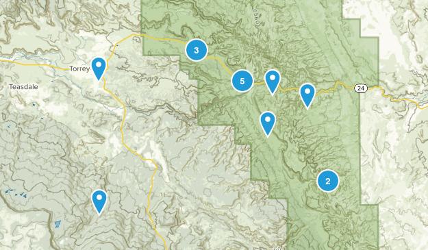 Torrey, Utah Kid Friendly Map