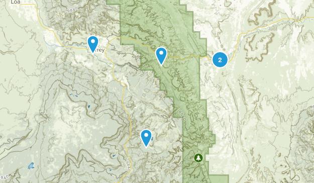 Torrey, Utah Mountain Biking Map