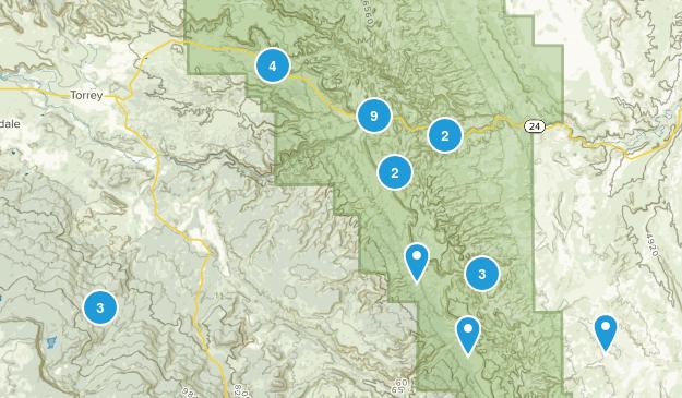 Torrey, Utah Walking Map