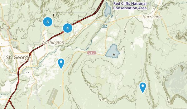 Washington, Utah Birding Map
