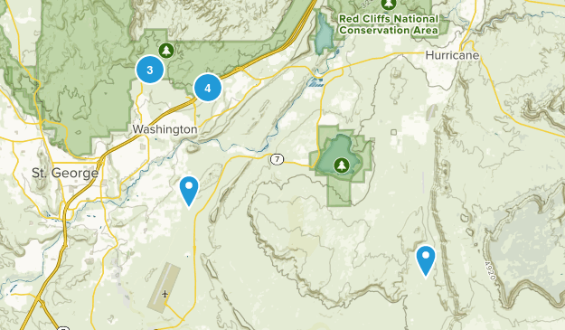 Washington, Utah Birding Map