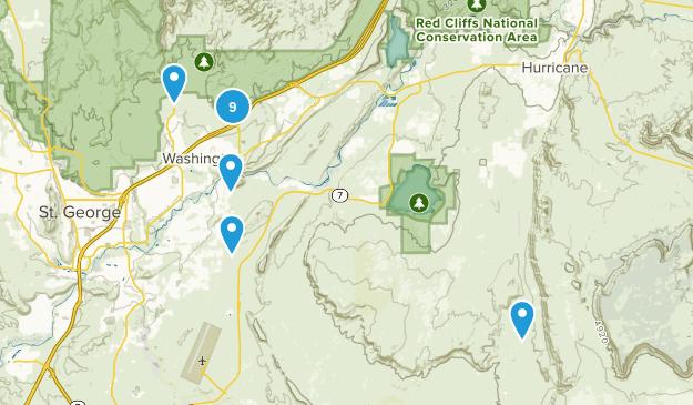 Washington, Utah Views Map