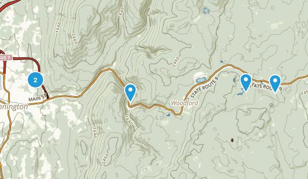 Bennington, Vermont Birding Map