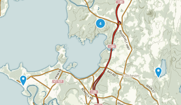 Colchester, Vermont Kid Friendly Map