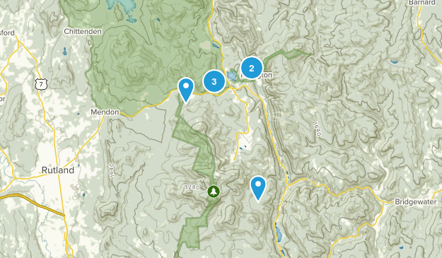 Killington, Vermont Birding Map