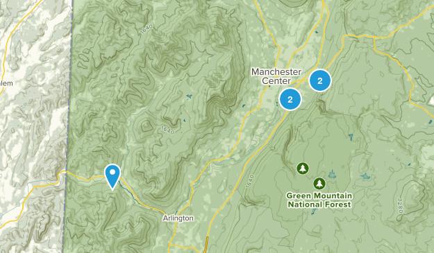 Manchester Center, Vermont Birding Map
