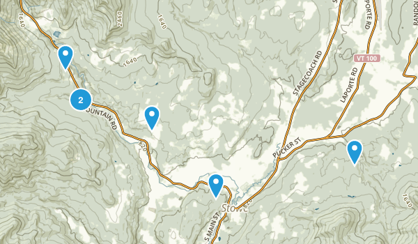 Stowe, Vermont Kid Friendly Map