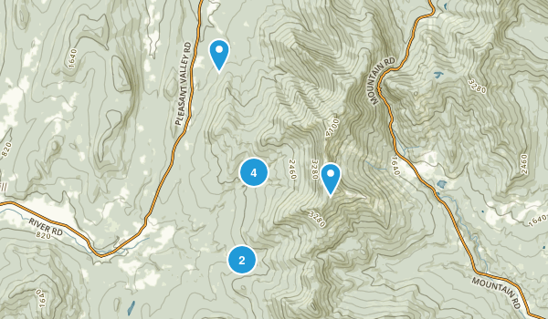 Underhill, Vermont Dogs On Leash Map