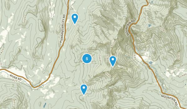 Underhill, Vermont Forest Map