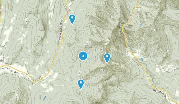 Underhill, Vermont Wildlife Map
