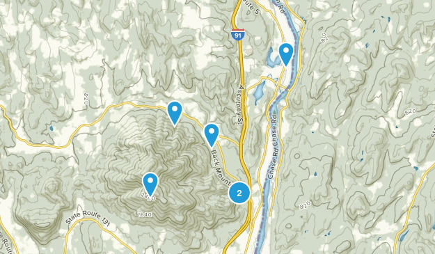 Windsor, Vermont Dogs On Leash Map