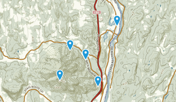 Windsor, Vermont Forest Map