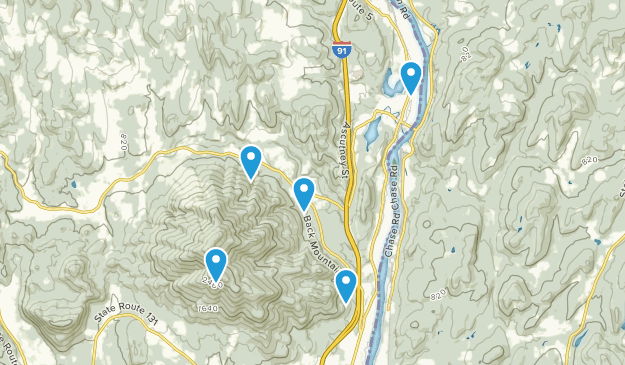 Windsor, Vermont Hiking Map