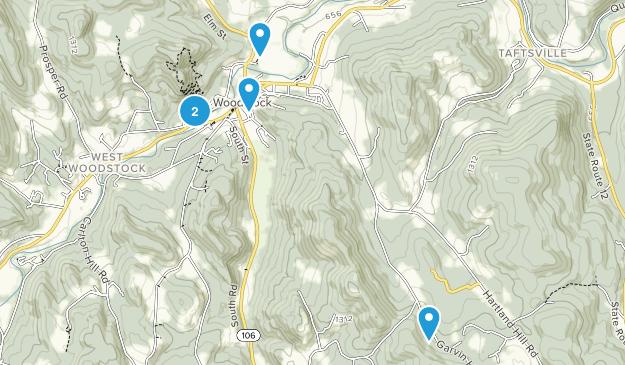 Woodstock, Vermont Wildlife Map
