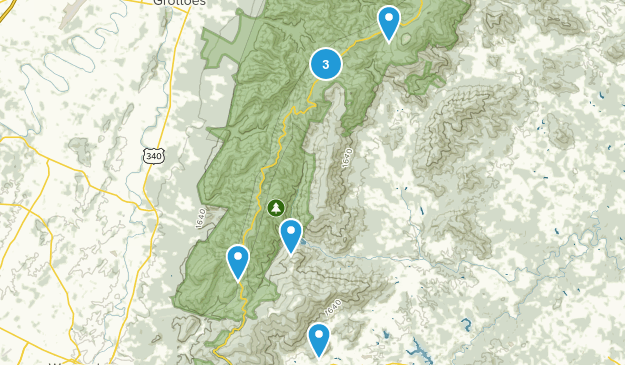 Crozet, Virginia Kid Friendly Map
